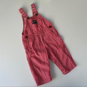 Vintage OshKosh | Railroad Striped Overalls